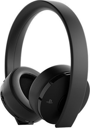 Sony Gold Wireless Headset schwarz (PS4) (9455165)