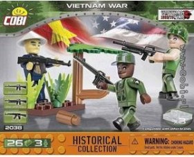Cobi Historical Collection Vietnam War Small Army (2038)