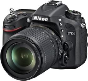 Nikon D7100 schwarz mit Objektiv AF-S VR DX 18-140mm 3.5-5.6G ED (VBA360K002)