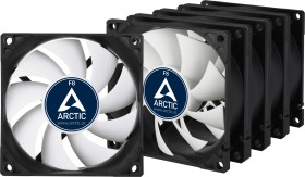 Arctic F8, 80mm value pack, 5-pack (ACFAN00061A)