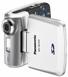 Panasonic D-Snap SV-AV20 srebrny