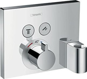 Hansgrohe ShowerSelect thermostat with 2 valves chrome (15765000)