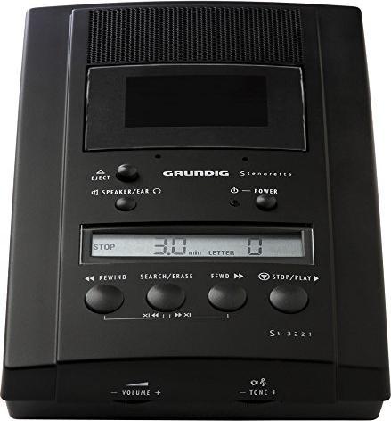 Grundig GBS Stenorette St 3221 system nagrywania głosu (PFO7500) -- via Amazon Partnerprogramm