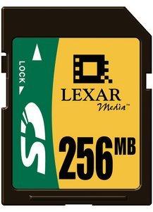 Lexar SD Card 256MB (SD256)