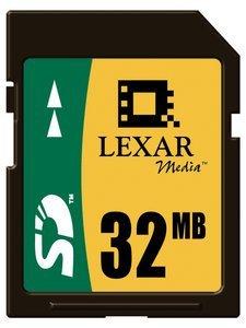 Lexar SD Card 32MB (SD032)
