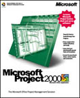 Microsoft: Project 2000 (German) (PC) (076-00822)