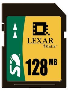 Lexar SD Card 128MB (SD128)