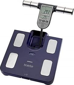 Omron BF511 electronic Segment-body analyser scale blue