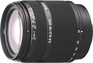Sony 18-200mm 3.5-6.3 DT black (SAL-18200) -- via Amazon Partnerprogramm
