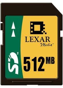 Lexar SD Card 512MB (SD512)