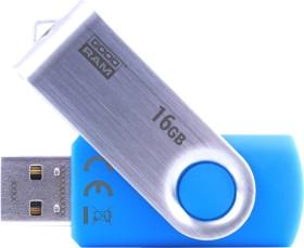 Goodram UTS2 blau 16GB, USB-A 2.0 (UTS2-0160B0R11)