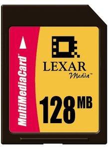 Lexar MultiMedia Card (MMC) 128MB (MMC128)