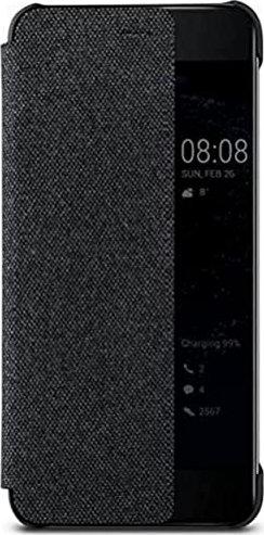 Huawei View Flip Cover für P10 dunkelgrau (51991886) -- via Amazon Partnerprogramm