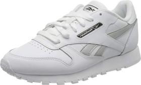 Reebok Classic Leather white/silver metallic (Damen) (EF3267)