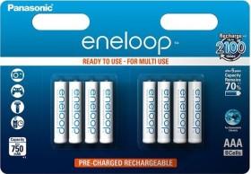 Panasonic eneloop (Gen 4) Micro AAA NiMH 750mAh, 8er-Pack (BK-4MCCE/8BE)