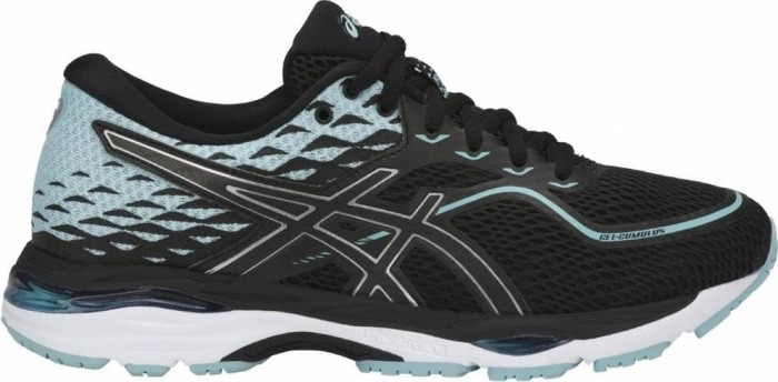 Asics Gel-Cumulus 19 black/porcelain/blue/white (Damen) (T7B8N-9014)