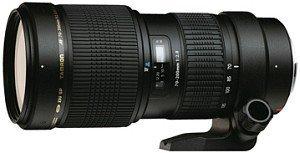 Tamron SP AF 70-200mm 2.8 Di LD IF Makro für Nikon F schwarz (A001N)