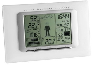 TFA Dostmann Meteo Max wireless weather station digital (35.1066)