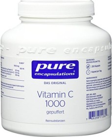 Pure Encapsulations Vitamin C 1000 gepuffert, 250 Stück