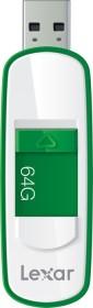 Lexar JumpDrive S75 grün/weiß 64GB, USB-A 3.0 (LJDS75-64GABEU)