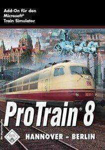 Microsoft Train Simulator - Pro Train 8: Hannover-Berlin (Add-on) (deutsch) (PC)
