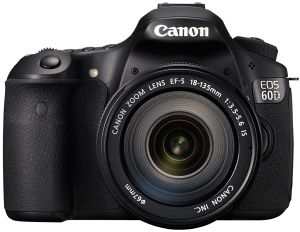 Canon EOS 60D with lens EF-S 18-135mm 3.5-5.6 IS (4460B048)