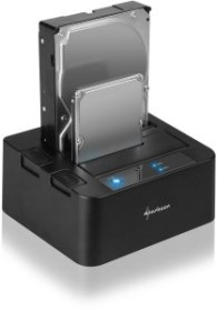 Sharkoon SATA Quickport Duo v.2, USB-B 3.0