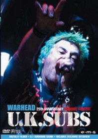 UK Subs - Warhead: In Concert (DVD)