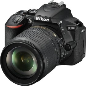 Nikon D5600 black with lens AF-S VR DX 18-105mm 3.5-5.6G ED (VBA500K003)