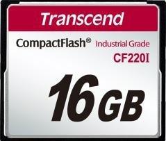 Transcend R39/W42 CompactFlash Card [CF] Industrial CF220I 16GB (TS16GCF220I)
