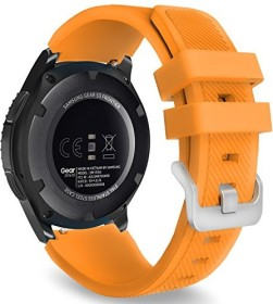 MoKo Silikonarmband für Samsung Galaxy Watch 46mm orange