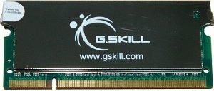 G.Skill SA Series SO-DIMM 1GB, DDR2-667, CL4 (F2-5300CL4S-1GBSA)