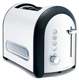 Morphy Richards Glen Dimplex Meno Polished Toaster (44340)