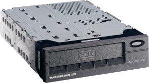 Tandberg SLR75 schwarz Kit, 38/75GB, SCSI (7153)