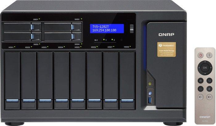 QNAP TVS-1282T-I7-32G, 32GB RAM, 2x 10GBase-T, 4x Gb LAN