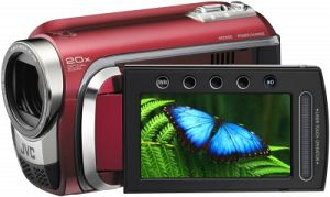 JVC Everio GZ-HD300 red