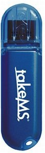 takeMS MEM-Drive Colorline NT blau  32GB, USB 2.0 (MS32768PD071N)
