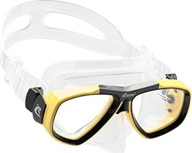 Cressi-Sub Focus double-glass mask clear/black/yellow (DS241010)