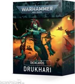 Games Workshop Warhammer 40.000 - Datakarten: Drukhari (DE) (01050112002)