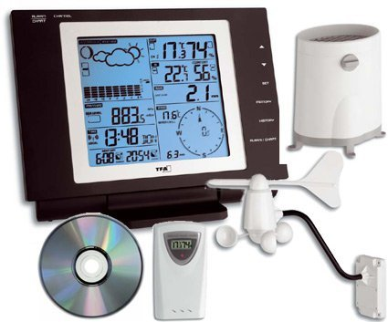 TFA Dostmann Nexus wireless weather station digital (35.1075)