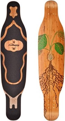 Loaded Boards Fattail Longboard Deck