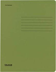 Falken Dreiflügelmappe Karton A4, grün (80004161001)