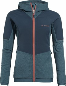 VauDe Yaras Hooded Fleece Fahrradjacke blaugrau (Damen) (42106-981)