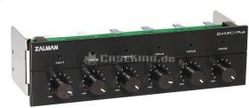 """Zalman ZM-MFC1 Plus schwarz, 5.25"""" Lüftersteuerung 6-Kanal (ZM-MFC1-PLUS-BK)"""
