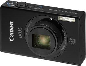 Canon Digital Ixus 510 HS black (6161B007)