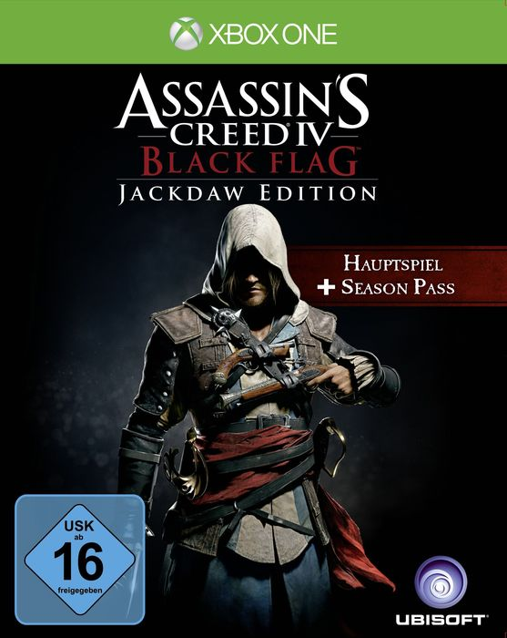 Assassin's Creed IV - Black Flag - Jackdaw Edition (deutsch) (Xbox One)