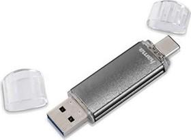 Hama FlashPen Laeta Twin 128GB, USB-A 2.0/USB 2.0 micro-B (114872)