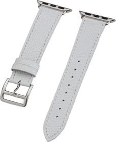 Peter Jäckel Watch Band Leather für Apple Watch (38mm/40mm) weiß (17264)