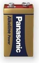Panasonic Alkaline Power 9V-Block (6LR61APB/1BP)