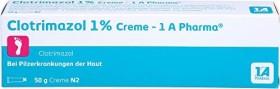 Bild 1A Pharma Clotrimazol 1% Creme,   50g